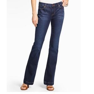 Talbots Flare Flawless Five Pocket jeans size 14